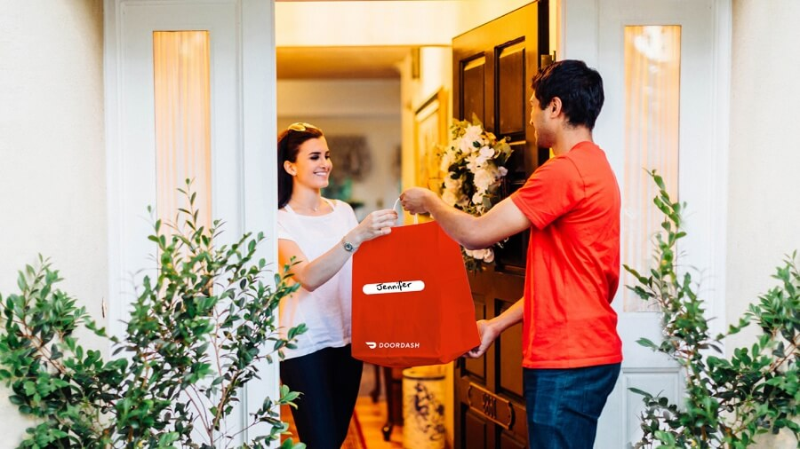 DoorDash Delivery Handoff